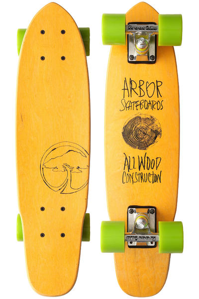 """Arbor Woody 23.5"""" (59,7cm) Cruiser (yellow)"""