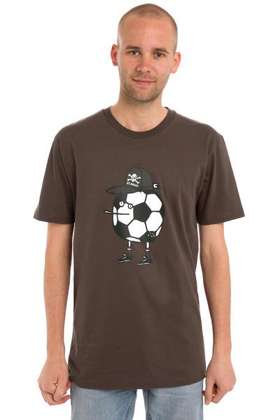 Cleptomanicx St. Pauli Zitronenfeldspieler T-Shirt (st. pauli brown)