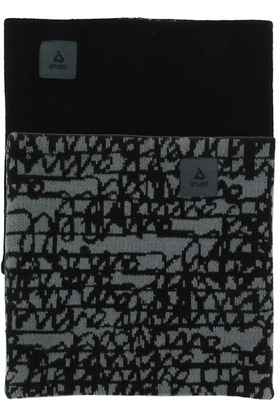 Anuell Tahko Reversible Scribble Neckwarmer (black grey)