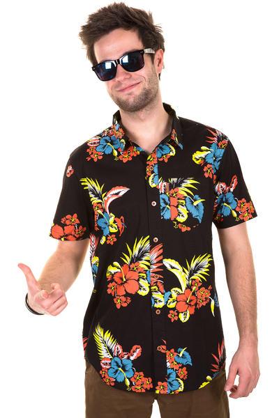Iriedaily Hawaiirie 2 Kurzarm-Hemd (black)
