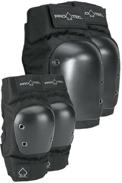 PRO-TEC Street Knee & Elbow Schützer-Set (black)