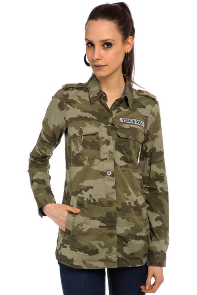 Roxy Without Me Print Hemd women (recruit olive)