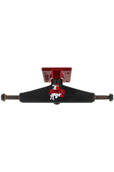 "Venture Trucks Color Unstoppable Low 5.25"" Achse (black red)"