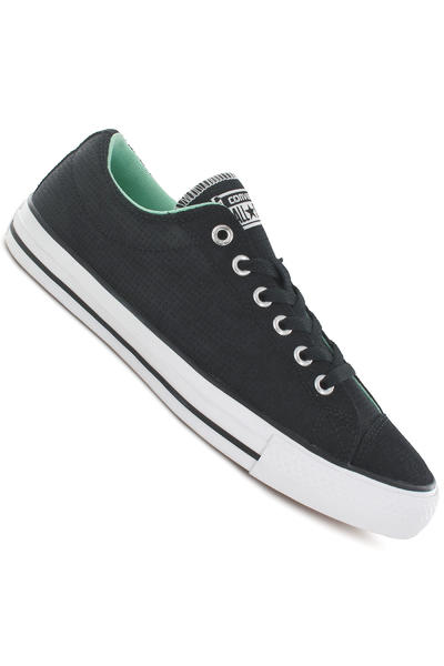 Converse CONS CTS Ox Suede Schuh (black white peppermint)