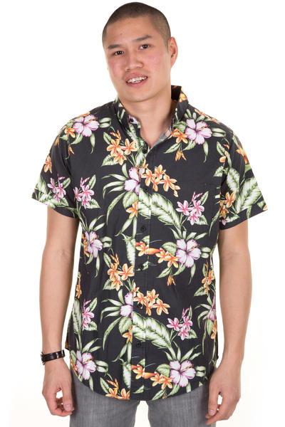 Globe Panama Kurzarm-Hemd (black)
