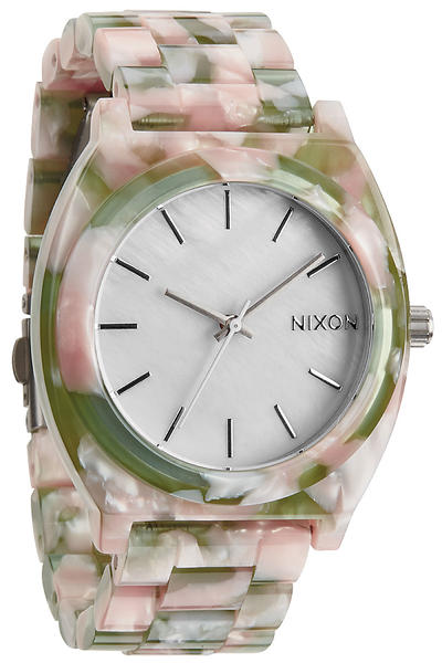 Nixon The Time Teller Acetate Uhr women (mint julep)