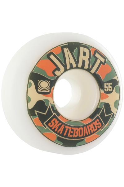 Jart Skateboards Camo Logo 55mm Rollen 4er Pack  (orange green)