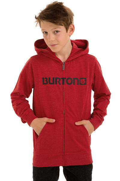 Burton Maxwell Zip-Hoodie kids (heather cardinal)