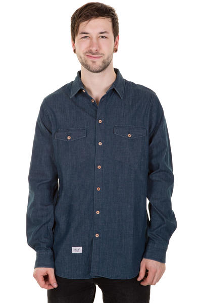 REELL Denim Hunter Hemd (rinse washed)
