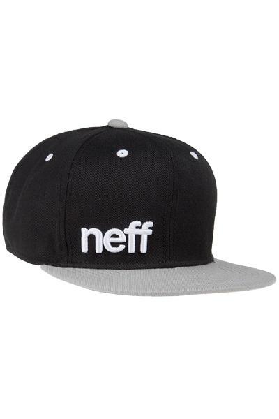 Neff Daily Snapback Cap (black grey white)