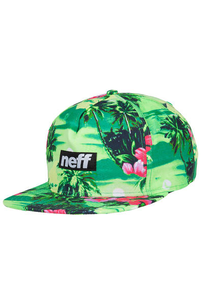 Neff Five O Snapback Cap (green)
