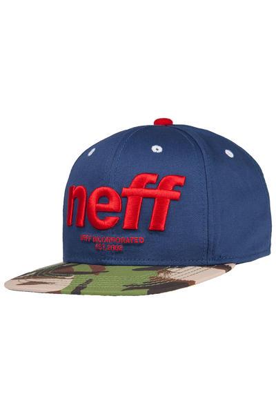 Neff Hadr Snapback Cap (navy)