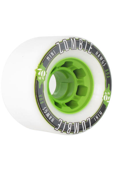 Hawgs Mini Zombies 70mm 80A Rollen (white) 4er Pack