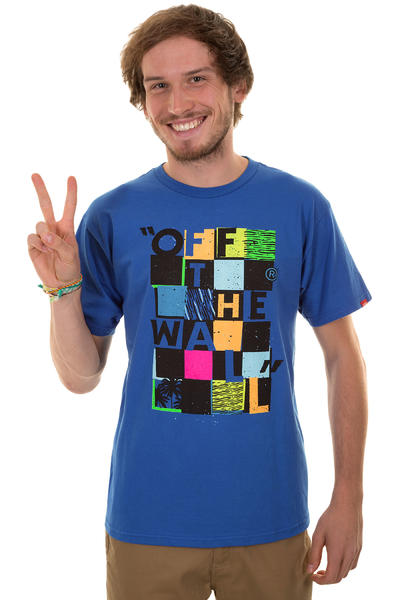 Vans Checker Blaster II T-Shirt (royal)