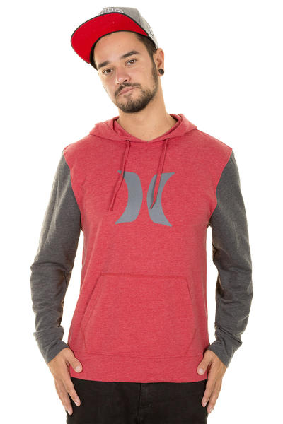 Hurley Icon Hoodie (heather red)