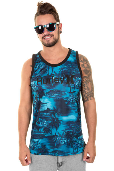 Hurley Dry-Fit Aloha Tank-Top (cyan)
