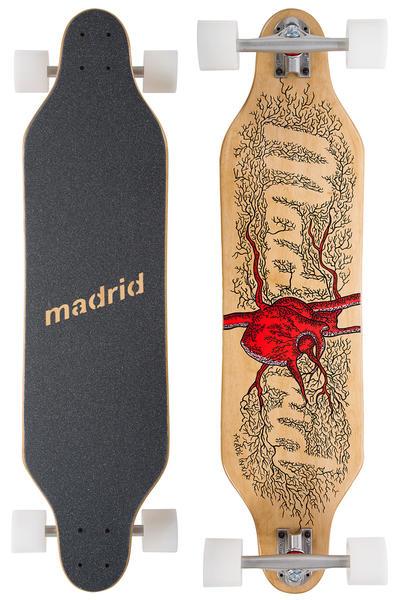 """Madrid Weezer Heart 36"""" (91,4cm) Komplett-Longboard"""