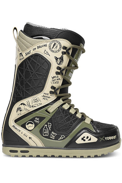 ThirtyTwo x Yobeat TM-2 Boot 2013/14  (black glam)