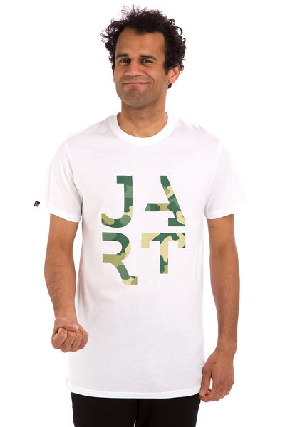 Jart Skateboards Camo T-Shirt (white)
