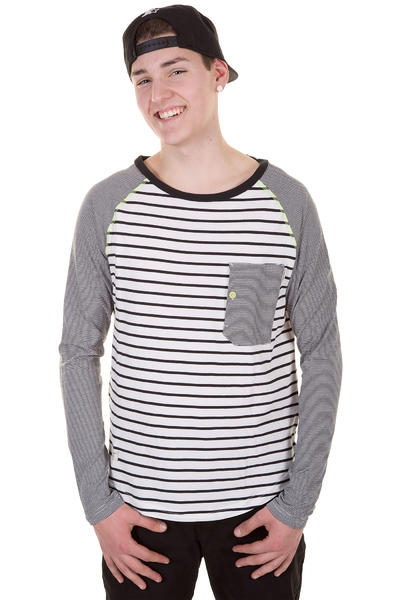Ragwear Noah Longsleeve (black stripes)