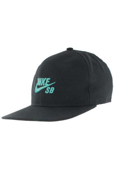 Nike SB Icon Snapback Cap (black crystal mint)