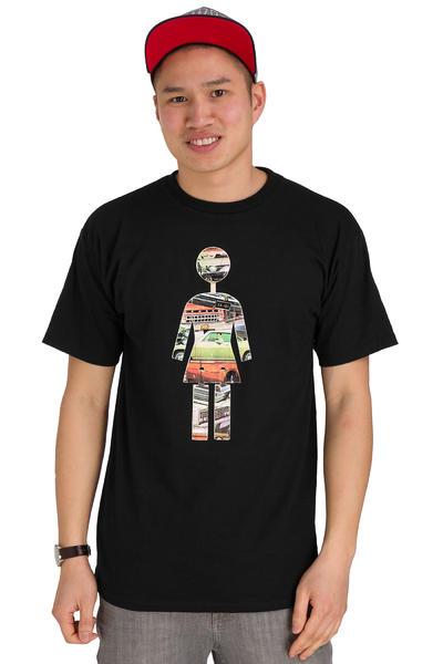 Girl On Exhibit T-Shirt (black)