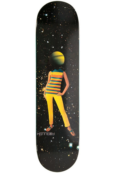 "Girl Kennedy Space Girls 8"" Deck (black)"