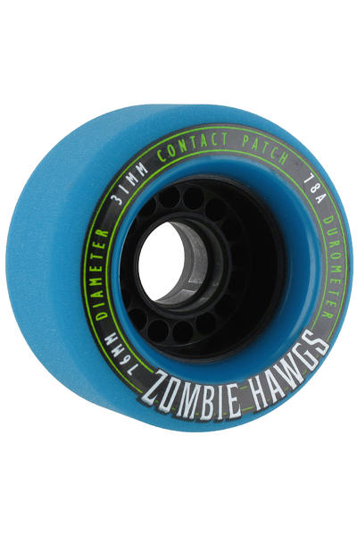 Hawgs Zombies 76mm 78A Rollen 2014 (blue) 4er Pack
