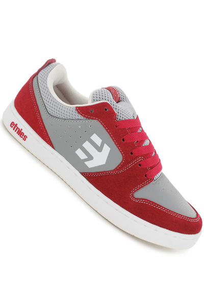 Etnies Verano Schuh (red grey white)