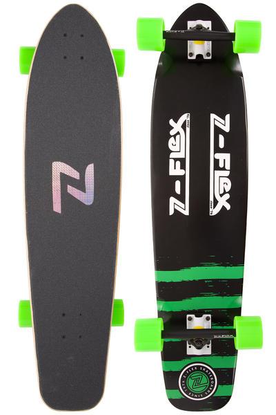 "Z-Flex Kicktail 38"" (96,5cm) Komplett-Longboard (black green)"