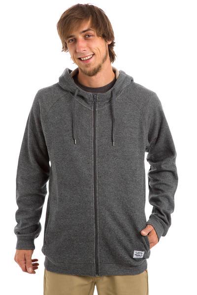 Cleptomanicx Woozer 2 Zip-Hoodie (dark grey)
