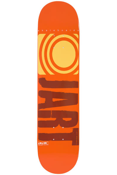 "Jart Skateboards Logo Basic SP14 7.5"" Deck (orange)"
