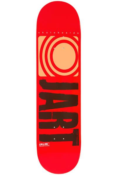 """Jart Skateboards Logo Basic SP14 8.125"""" Deck (red)"""