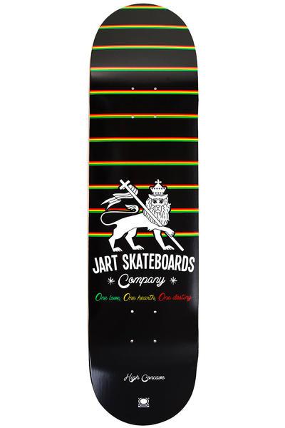 "Jart Skateboards Rasta Logo 8.125"" Deck (black)"