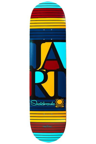 """Jart Skateboards Bars Logo 8.125"""" Deck (multi)"""