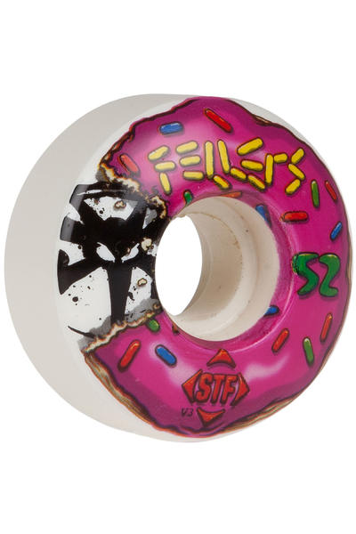 Bones STF Fellers Sprinkles 52mm Rollen 4er Pack  (white)