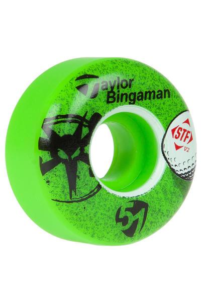Bones STF Bingaman Aced 51mm Rollen (green) 4er Pack