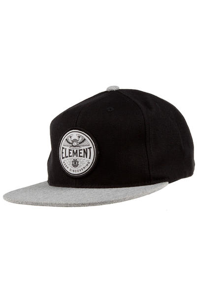 Element Brush Snapback Cap (black)