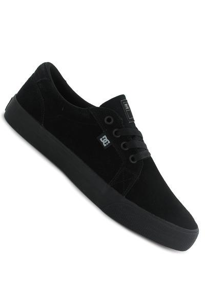 DC Council S Suede Canvas Schuh (black black)