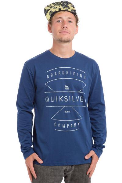 Quiksilver Typo Longsleeve (estate blue)
