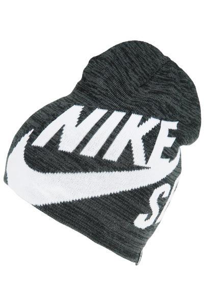 Nike SB Wrap Mütze reversible  (black aviator grey)