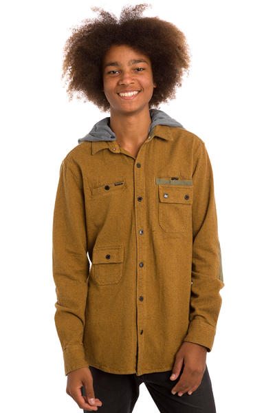Volcom Delroy Hemd (bear brown)