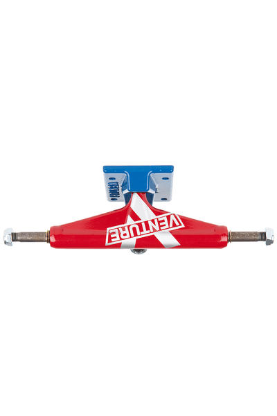 "Venture Trucks Color Marquee Super V Low 5.25"" Achse (red blue)"