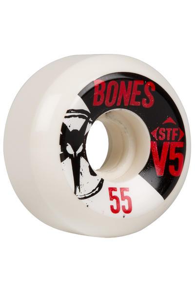 Bones STF-V5 Series 55mm Rollen 4er Pack  (black white)
