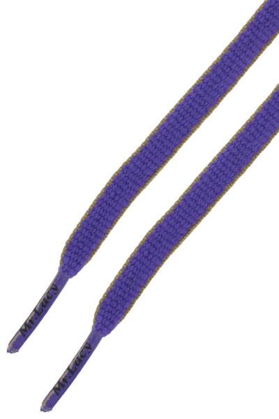 Mr. Lacy Slimmies Schnürsenkel (violet yellow)