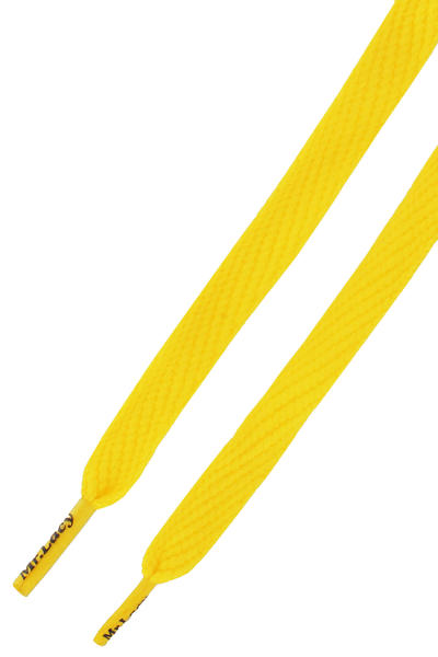 Mr. Lacy Flatties Laces (yellow)