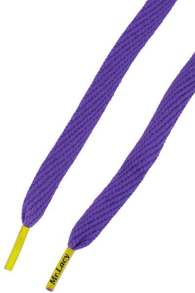 Mr. Lacy Flatties Schnürsenkel (violet yellow)