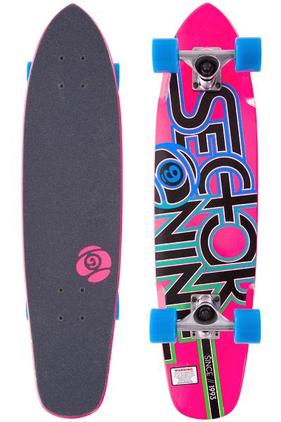 """Sector 9 The Wedge 31.3"""" (79,5cm) Cruiser 2014 (pink)"""