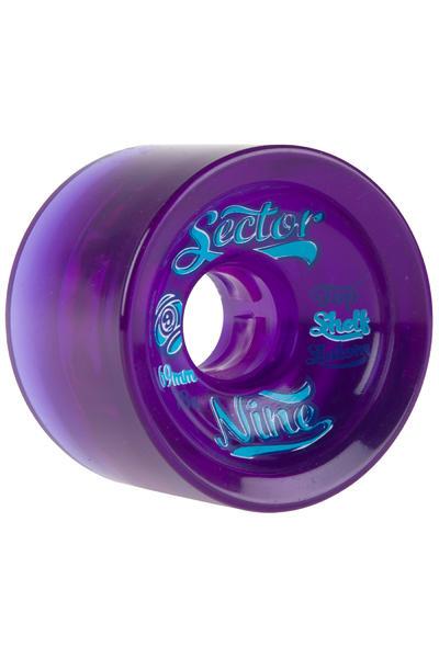 Sector 9 Top Shelf 69mm 78A OS Wheel (purple) 4 Pack