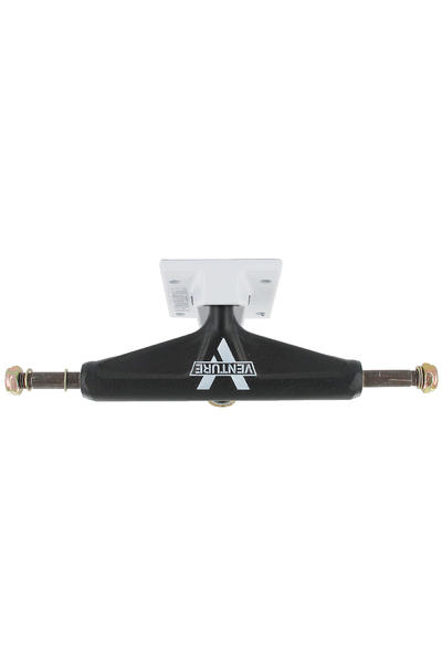 "Venture Trucks Color Salt & Pepper Low 5.0"" Truck (black white)"